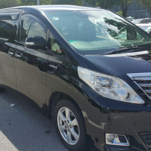 Hong Kong 7 Seater Van