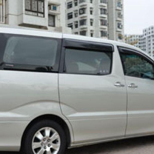 Hong Kong-China Cross-Border 7 Seater Coach