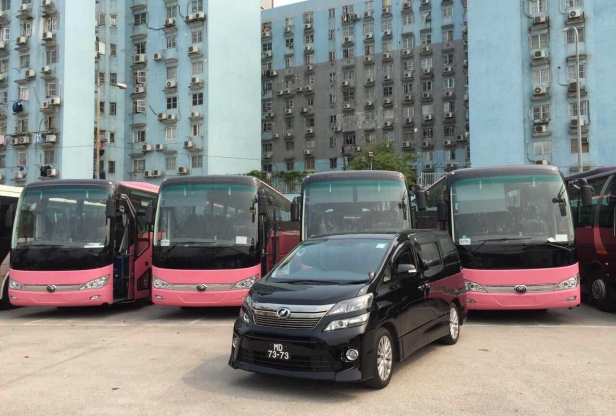 Macau 9 Seater Coach